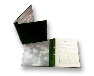 Condoleanceboek Groen incl. binnenwerk