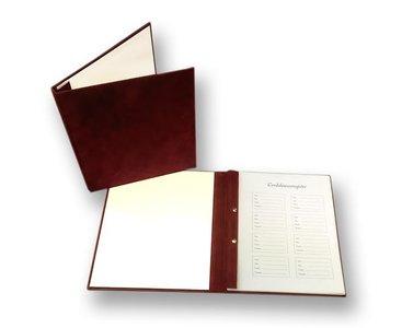 Condoleanceboek Rood incl. binnenwerk